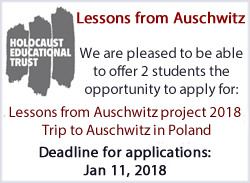 Lessons from Auschwitz Project 2018